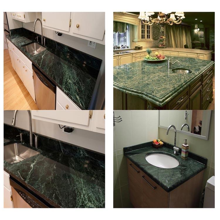 Emerald Dark Green Marble Slab